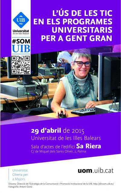 Cartel UIB Jornada Presentación Estudio TIC