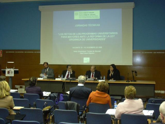 JornadasTecnicasAlicante Dic05 conclusiones propuesta AEPUM al MEC