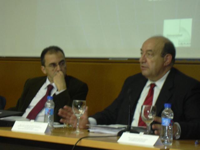 JornadasTecnicasAlicante Dic05 rector universidad alicanteYsecretario estado universidades