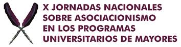 Logo X Jornadas Nacionales sobre Asociacionismo en los Programas Universitarios de Mayores